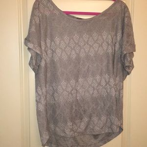 Tops - Gray shirt